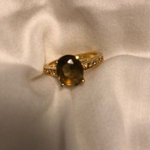 Premier tiger eye ring